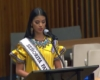"""Mis orígenes son mi mayor orgullo"": Rosa Montezuma ante la ONU"